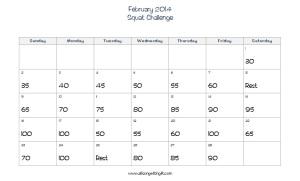 February Squats
