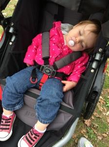 Someone was sleepy!