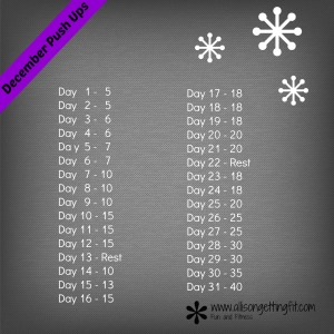 December Push Ups