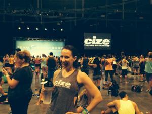 Me at Cize!