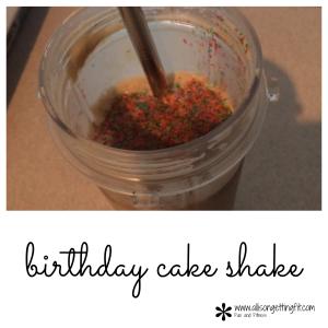 Birthday Cake Shake