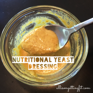 Nutritional Yeast Dressing